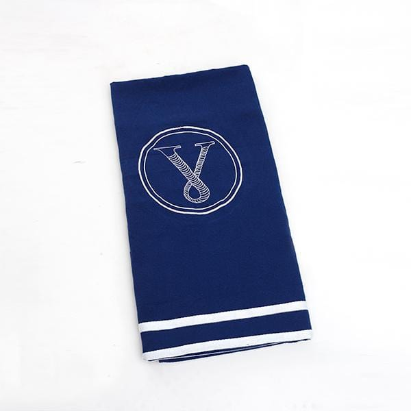 Porto Beach Towel | Navy Blue