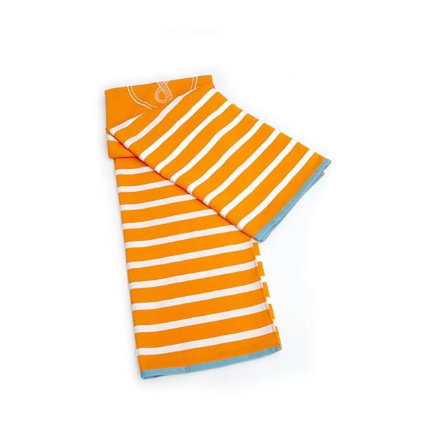 Porto Beach Towel | Orange