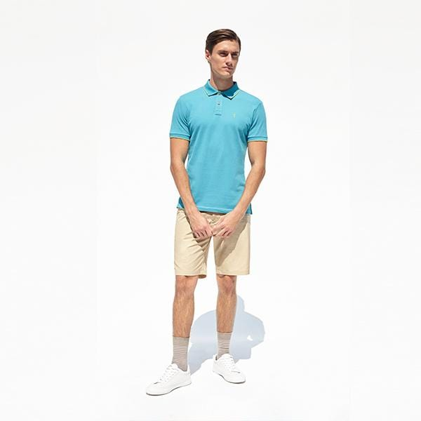 Marco Polo Shirt | Turquoise