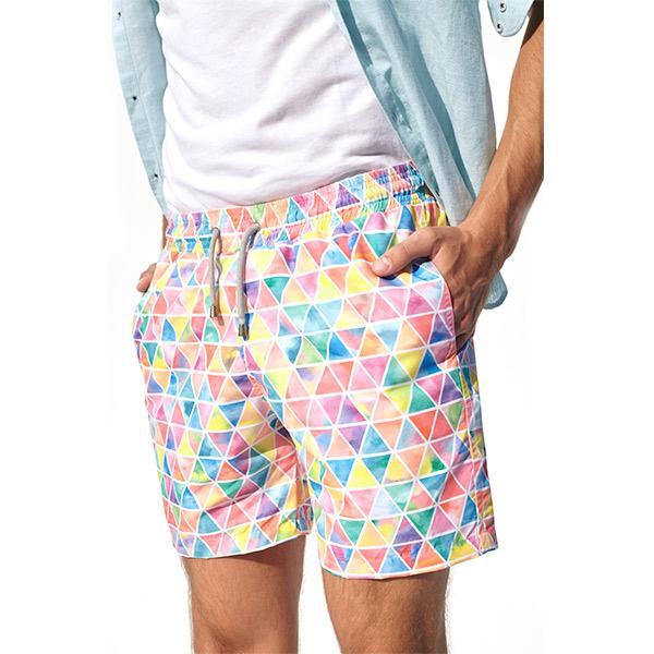 Angolo Swim Shorts | Pink Polo Shirt Port Royale
