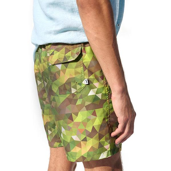 Camo Swim Shorts | Khaki Polo Shirt Port Royale