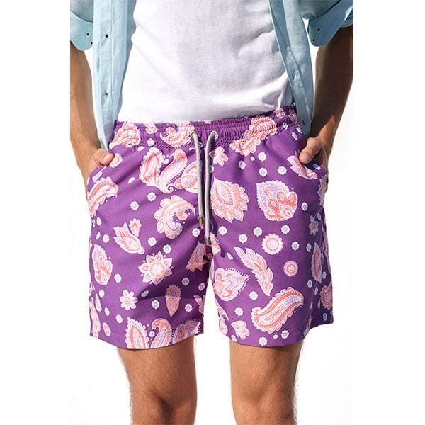 Otto Swim Shorts | Purple