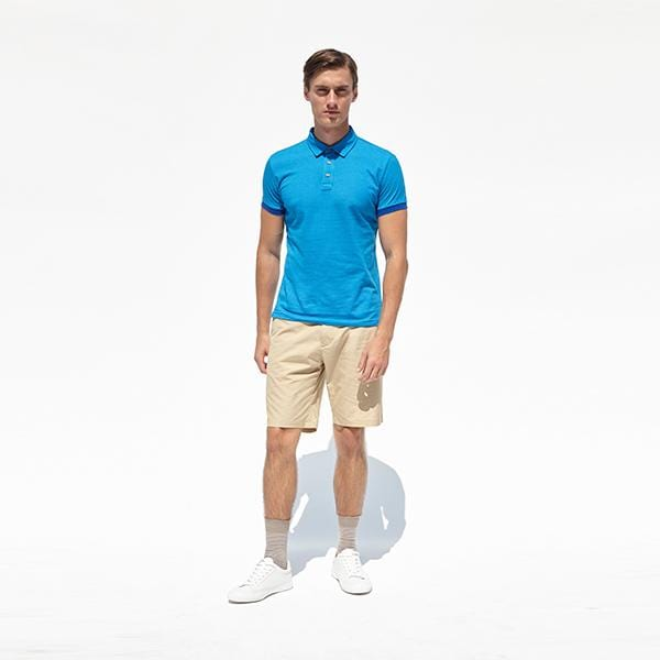 Triangolo Polo Shirt | Royal Blue