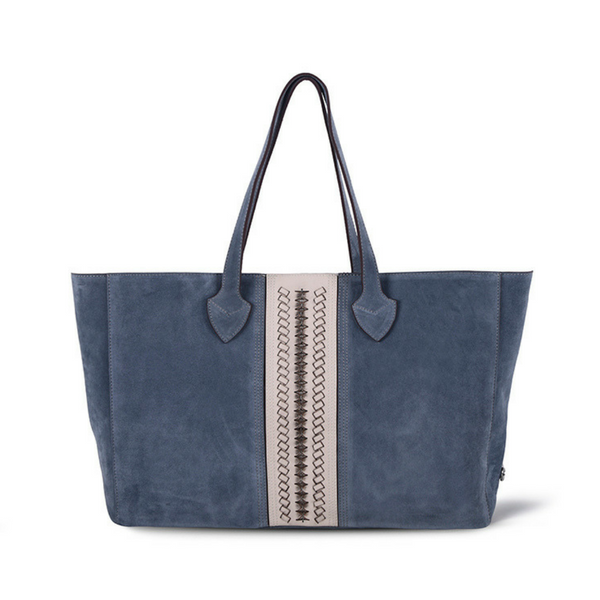 Donna Shopping Bag | Lago Suede - hippist.co.uk
