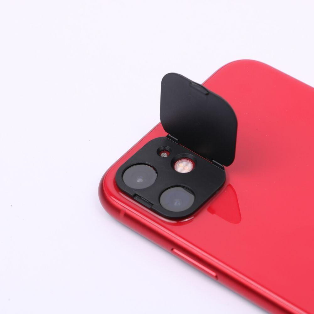 iPhone 11 Rear Camera Lens Protection & Webcam Cover| Never Give Up
