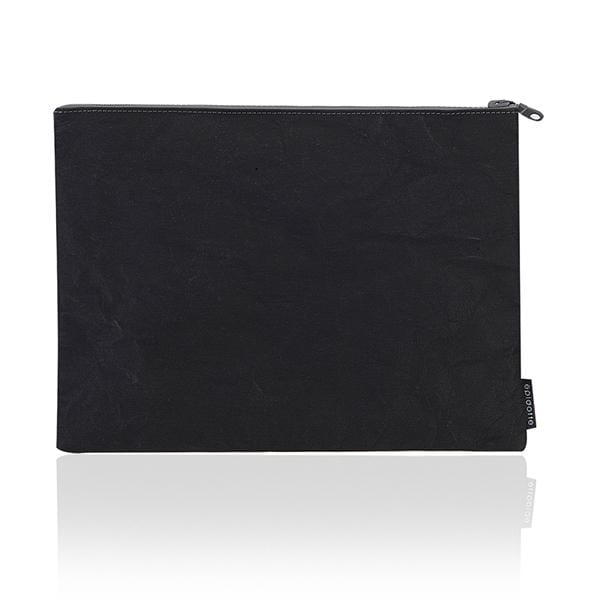 Epidotte Black Colour Laptop Case from Eco-friendly paper at hippist.co.uk