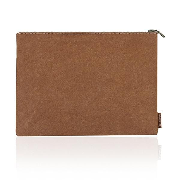 Epidotte Chocolate Colour Laptop Case from Eco-friendly paper at hippist.co.uk
