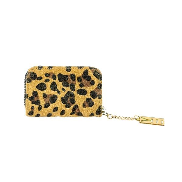 Why Note!? Leopard Coin Holder at hippist.co.uk