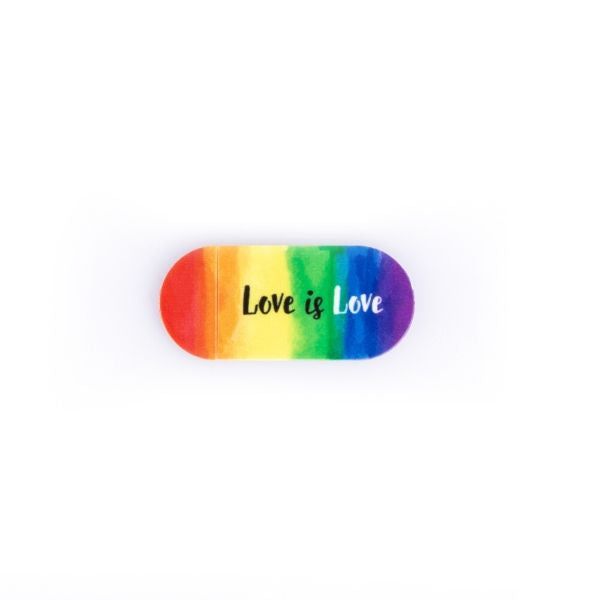 Webcam Cover | Love is Love | Rainbow