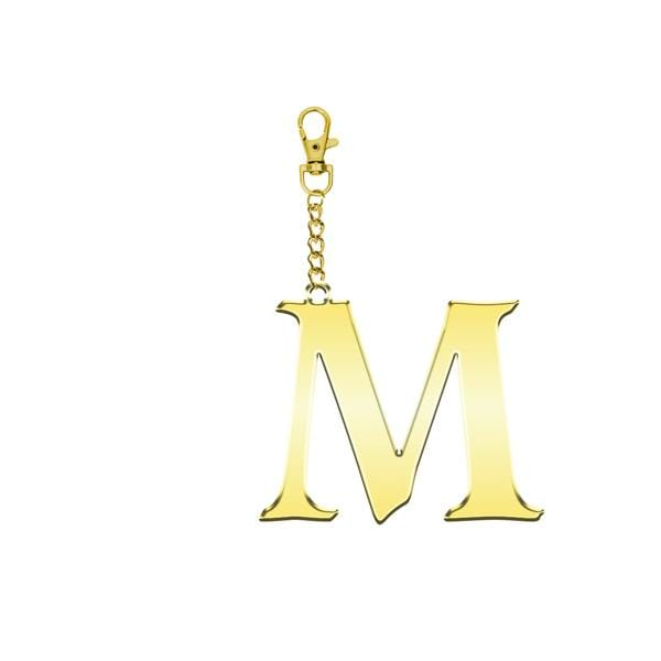 Why Note!? M Letter Bag Accessory and Key Holder at hippist.co.uk