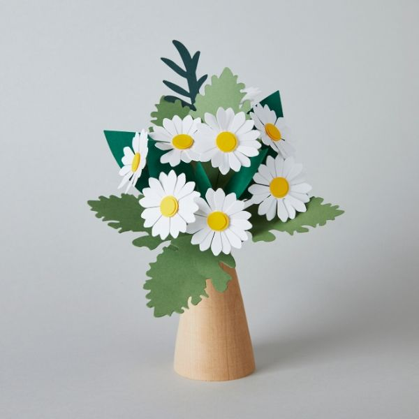 Minty Paper Flower Bouquet