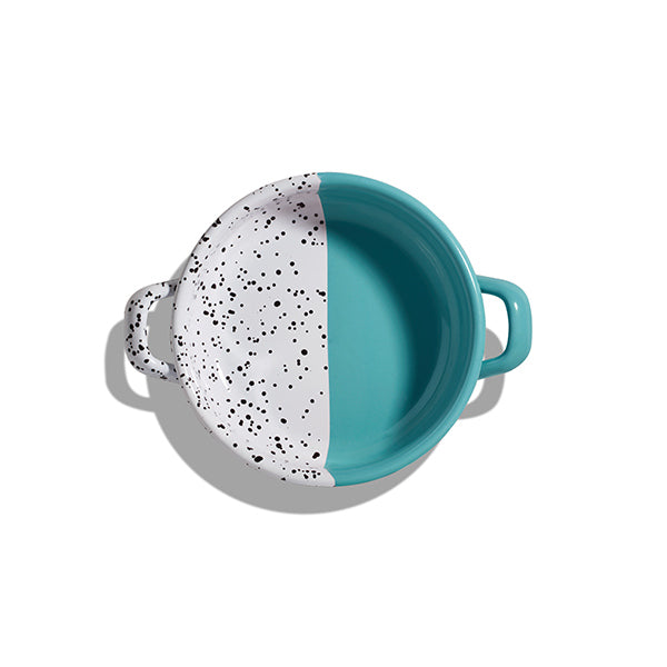 Mind-Pop Enamel Pan | Turquoise Green