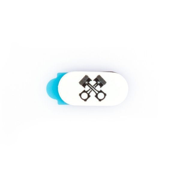 Webcam Cover | Piston Mini | White