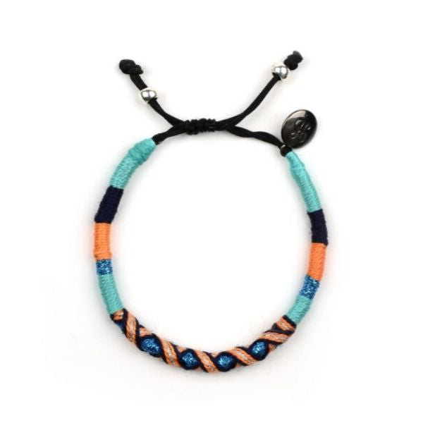 happynes branded colourful trendy handcrafted bracelet at hippist