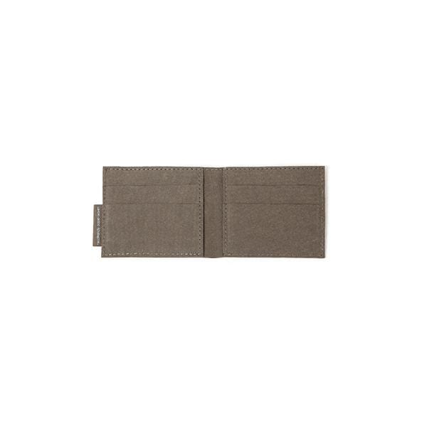 taiga colour short wallet from eco friendly paper