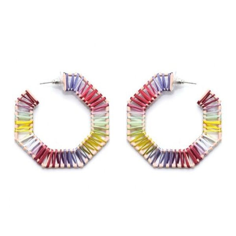 Nomisma | Zoe Feather Earrings
