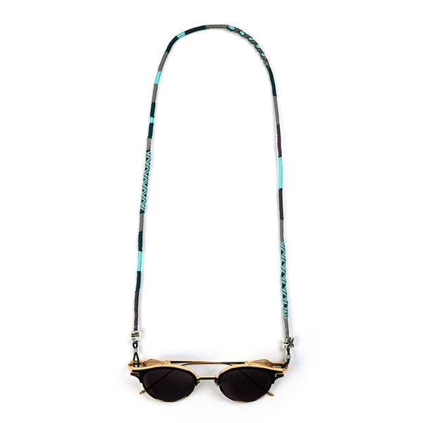 Colourful Eyeglass Chain | Turquoise Sea