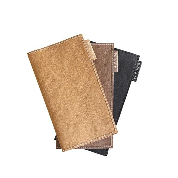 wallet for her 3 different colour black kraft chocolate from eco-friendly paper