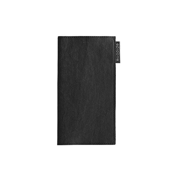 wallet for her black from eco-friendly paper