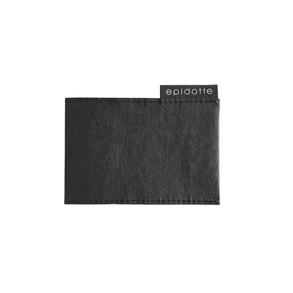 wallet for him black from eco-friendly washable paper