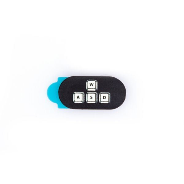 Webcam Cover | Wasd Mini | Black