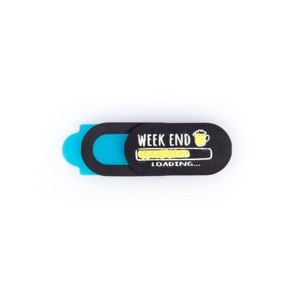 Webcam Cover | Weekend Loading Mini | Black
