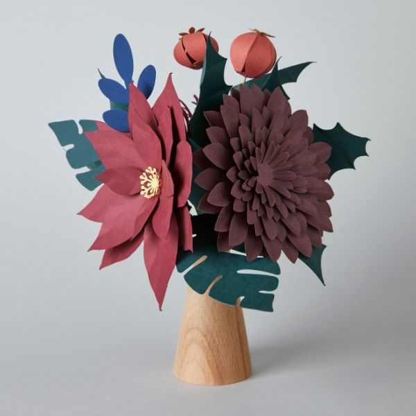 Winter Sun Paper Flower Bouquet