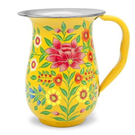 Enamel Jug | Yellow Lotus