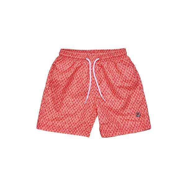 Orange swim shorts for 2-10 years