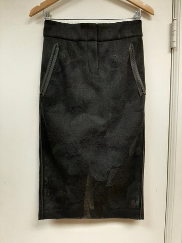 Mascara Mesh Illusion Skirt - Sample Sale