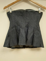 Bow Denim Corset - Sample Sale