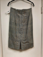 Grey Glen Plaid Skirt- Sample Sale
