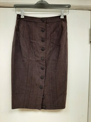 Mauve Straight Skirt - Sample Sale