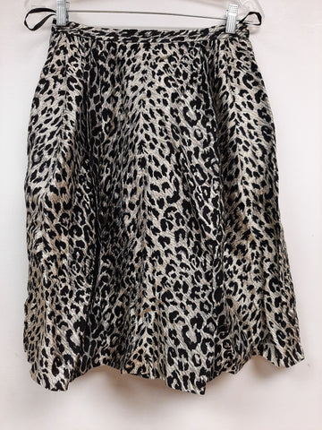 Leopard Skirt - Sample Sale