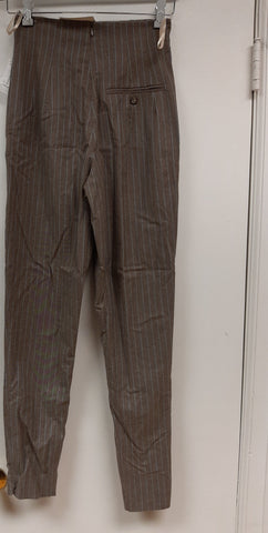 Brown Pinstripe Pant- Sample Sale