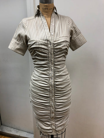 Dove Fitted Dress - Sample Sale