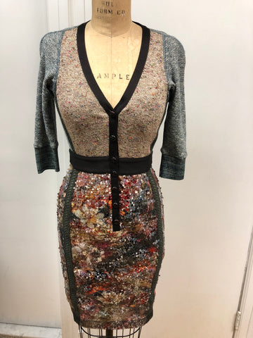 Sequin Plated Dress - Sample Sale