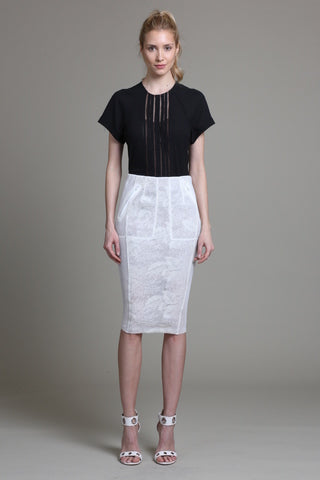 Mesh Illusion Skirt - Sample Sale