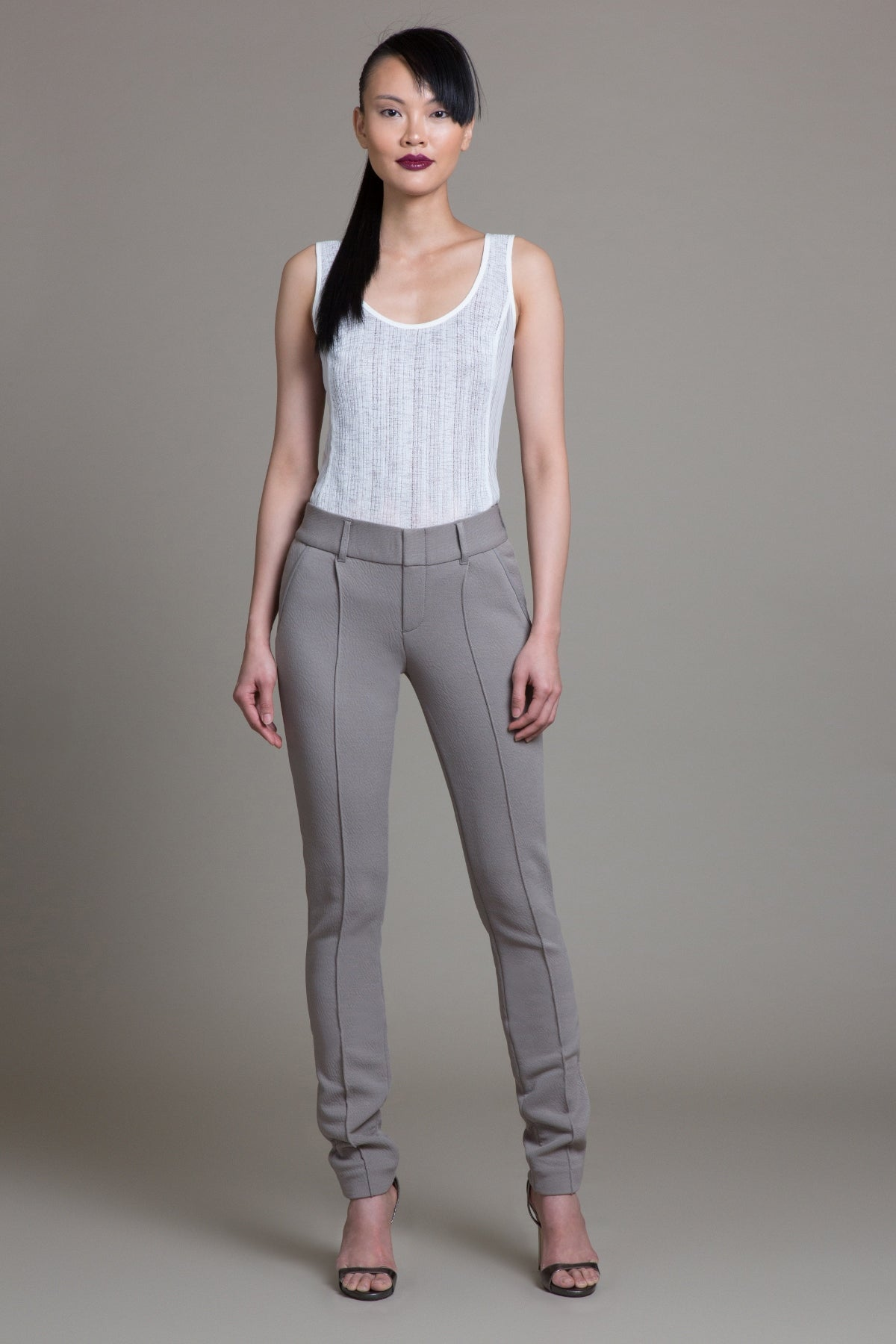Bungee Crinkle Tailored Stretch Pant