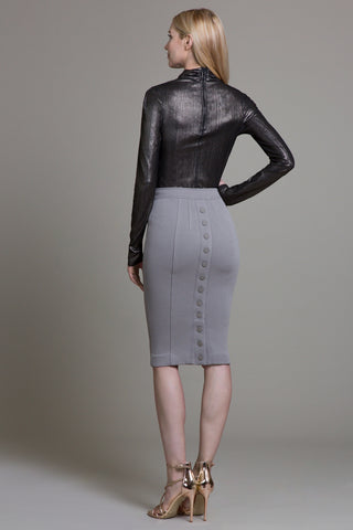 Bungee Crinkle Tailored Skirt