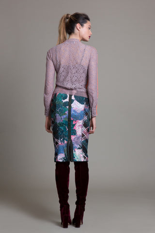 Nouveau Watercolor Pencil Skirt