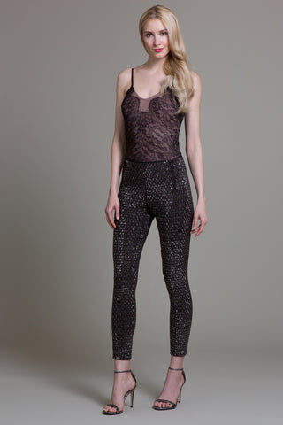 Crystal Carrington Mercury Beaded Pant