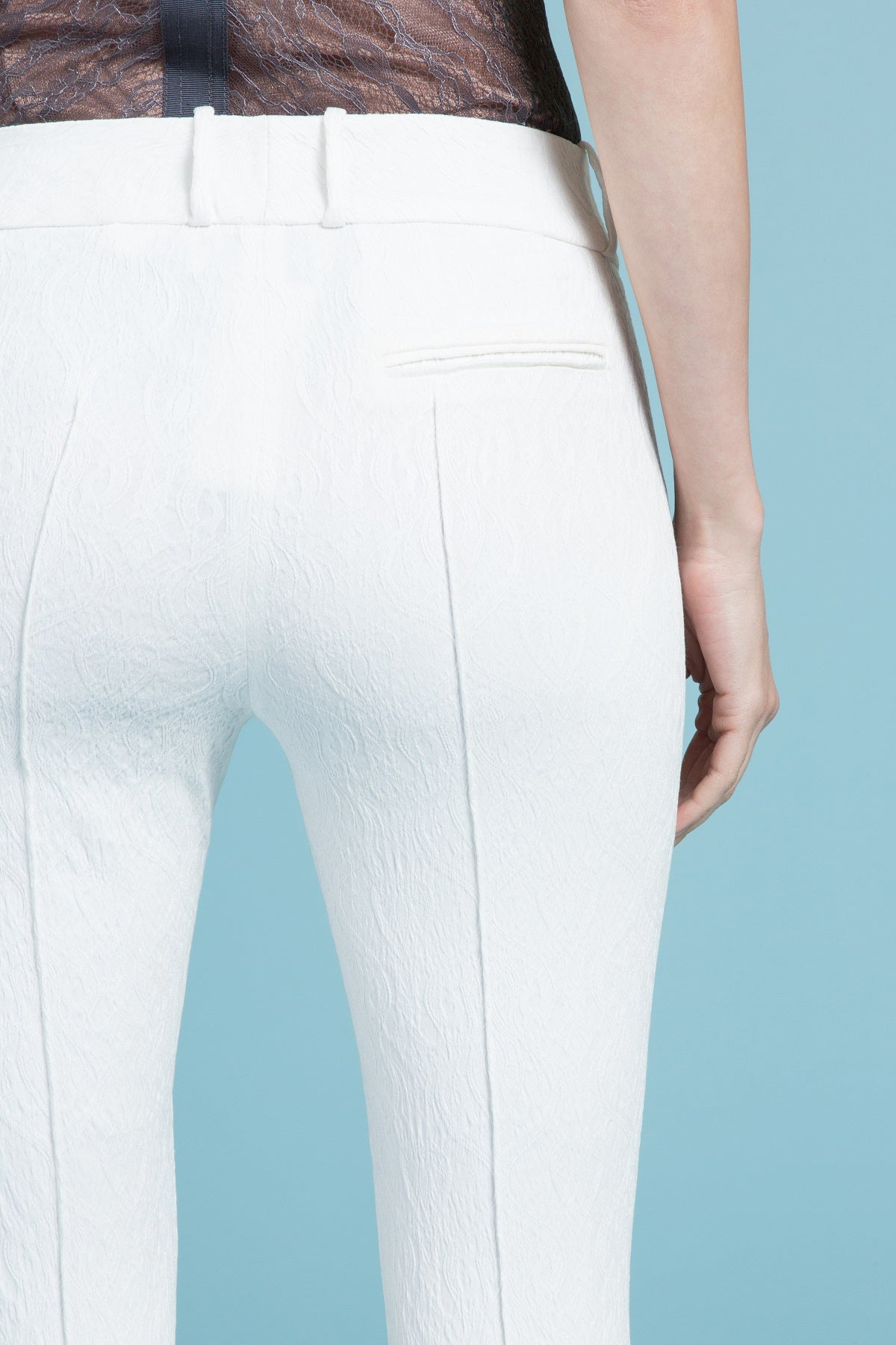 Classic Cotton Jacquard Stretch Pant