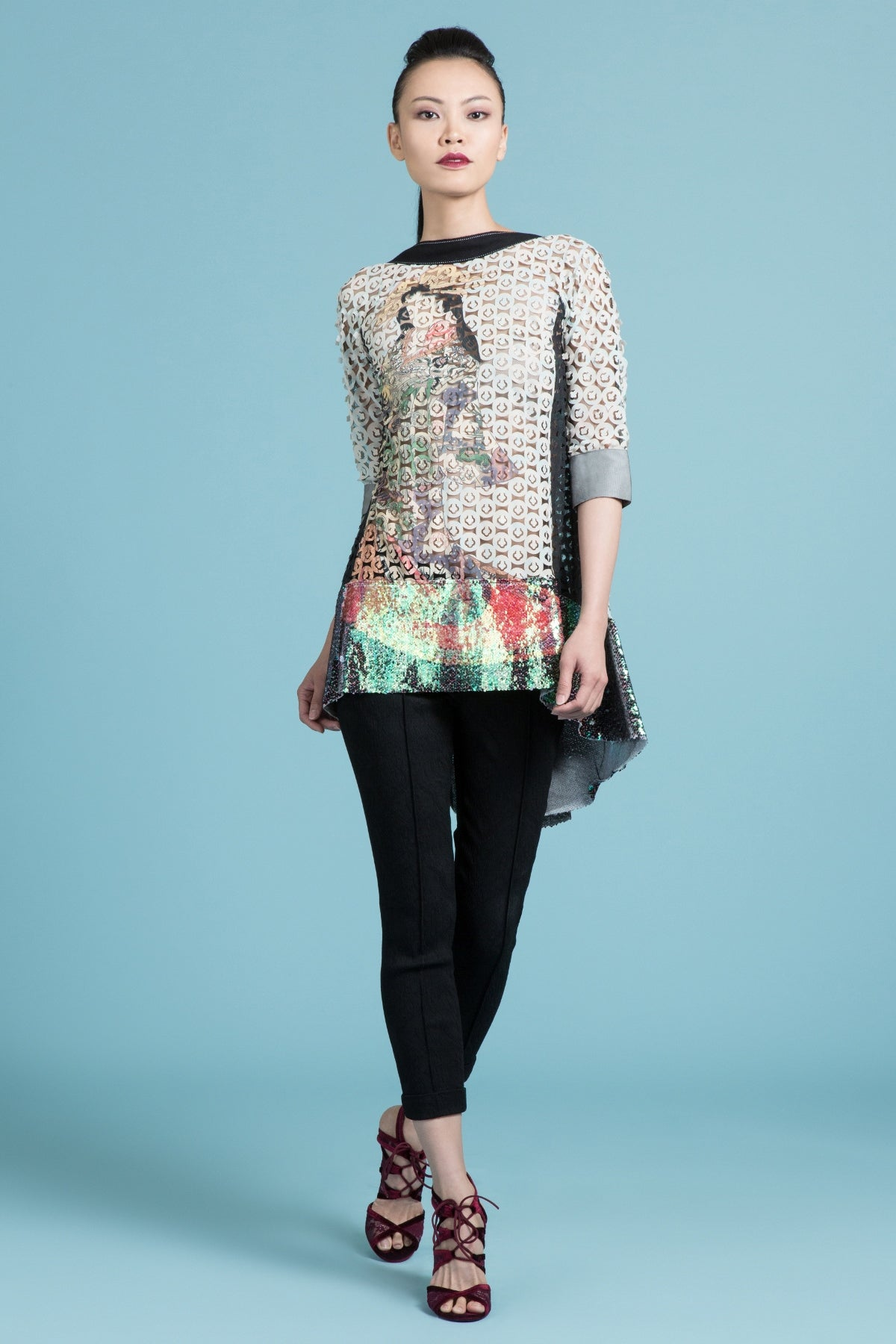 Geisha Mist Swing Back Tunic
