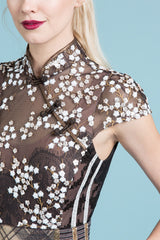 Powder Keg Sequin Sheath
