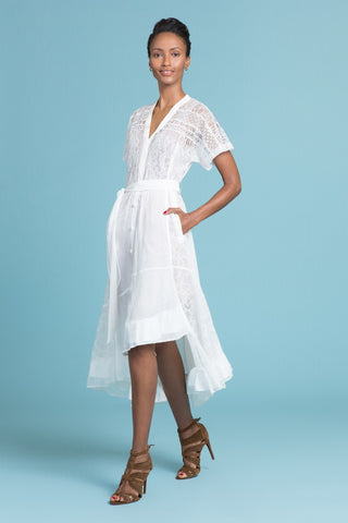 Cascading Lily of The Valley Dress (85007630356)