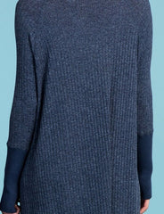 Adam's Rib Knit Turtleneck