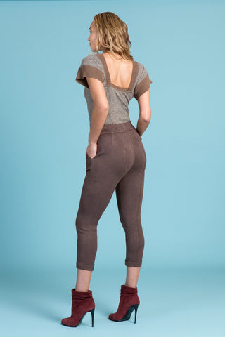 Vegan Buckskin Stretch Pant