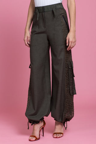 Tailored Utility Wide Leg Cargo Pant (1482854203467)