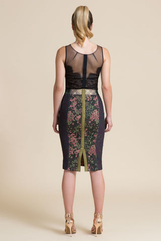 Versailles Pencil Skirt